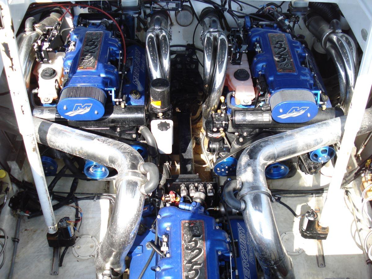 Motor change on Fountain 47