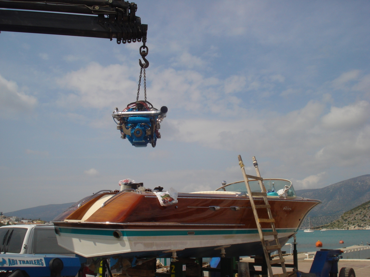 Riva Aquarama Rebuilt