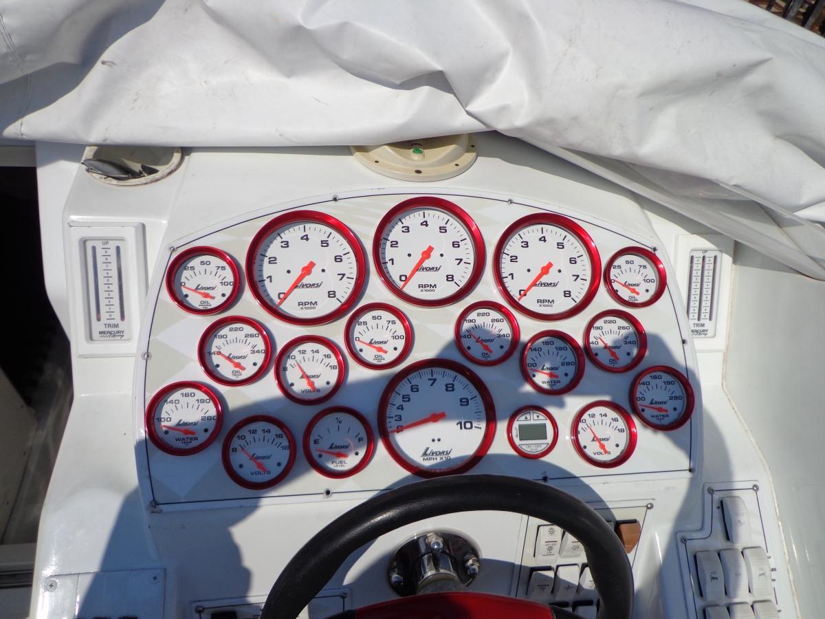 Gauges change in Baja boat