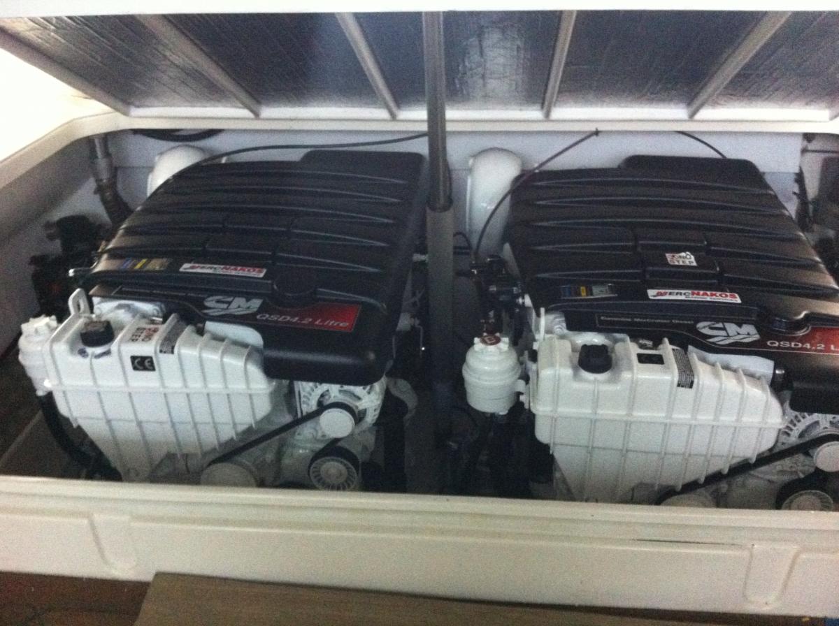 Rebuilt motors Bolton boat